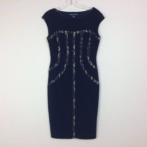 American Living Navy Bodycon Dress